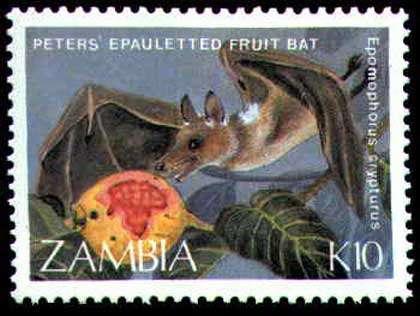 Timbre de Zambie.