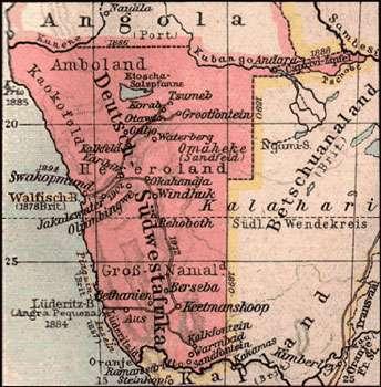 Deutsch-Sudwestafrika. © DR