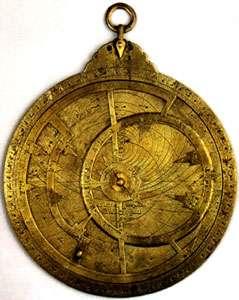 Astrolabe en laiton