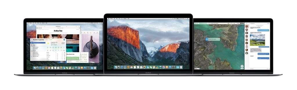 Avec la dernière version de Mac OS X El Capitan, Apple s'est attaché à peaufiner la version actuelle de son système d'exploitation (Yosemite) qui souffrait de quelques défauts de jeunesse touchant l'ergonomie et les performances. © Apple