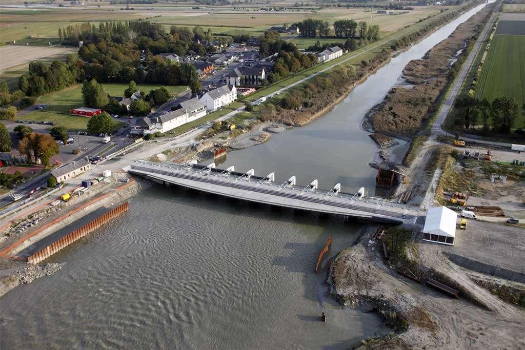 Le barrage sur le Couesnon