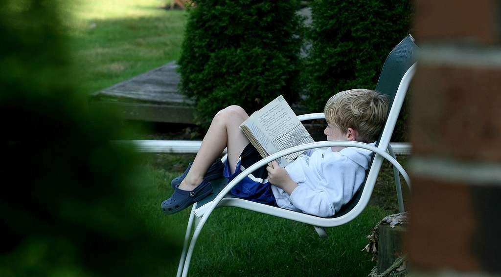 La saccade est un processus oculomoteur indispensable à la compréhension lors de la lecture. © alex.ragone, Flickr, CC by-nc-sa 2.0