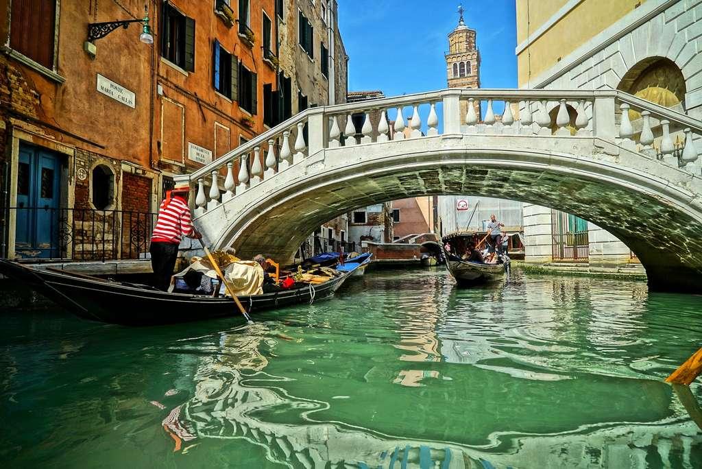 L'eau des canaux de Venise n'a jamais été si transparente que depuis le confinement. © Mentor_henry by Pixabay