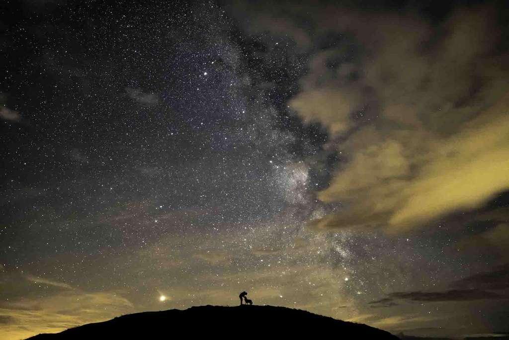 «Ben Floyd et le noyau» (Ben, Floyd & the Core) ou lorsque la vie s'incline devant la majesté de l'Univers. © Ben Bush
