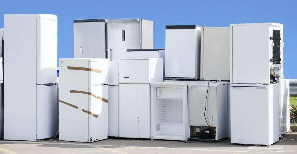 Les gaz fluorés, utilisés dans nos réfrigérateurs et climatiseurs, par exemple, et qui sont progressivement interdits d'usage, présentent un pouvoir réchauffant jusqu'à 23.000 fois supérieur à celui du CO2. Ils ont aussi leur part de responsabilité dans le réchauffement climatique. © Richard Johnson, Adobe Stock