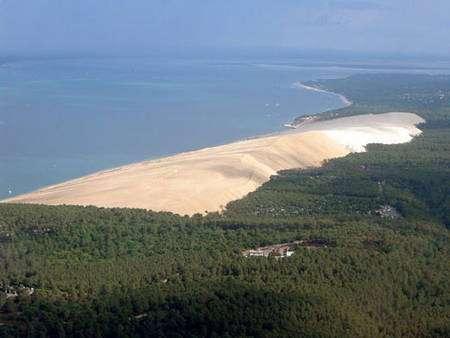 Photo de la dune du Pyla. © DR
