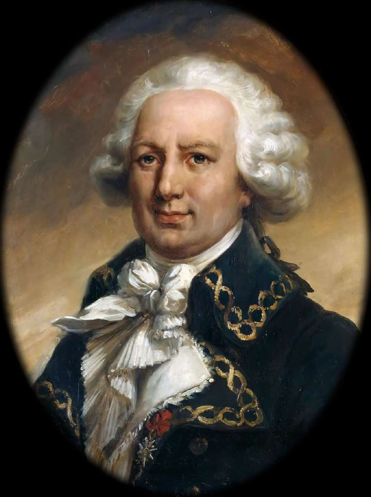 Portrait de Louis-Antoine de Bougainville par Jean-Pierre Franque. © Château de Versailles, domaine public.