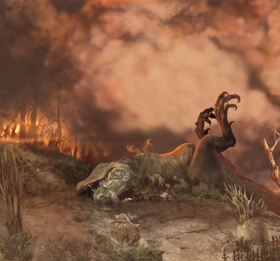 La disparition des dinosaures a fait grandir les mammifères