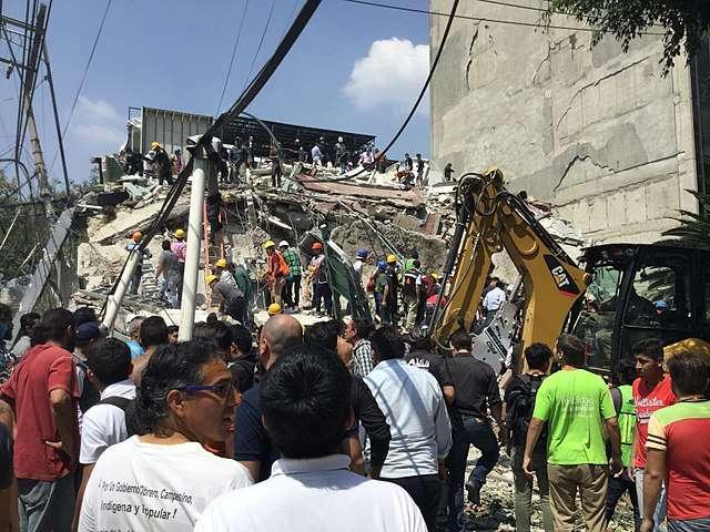 Le 19 septembre 2017, le Mexique a été frappé par un séisme destructeur de magnitude 7,1. © ProtoplasmaKid, Wikimedia Commons