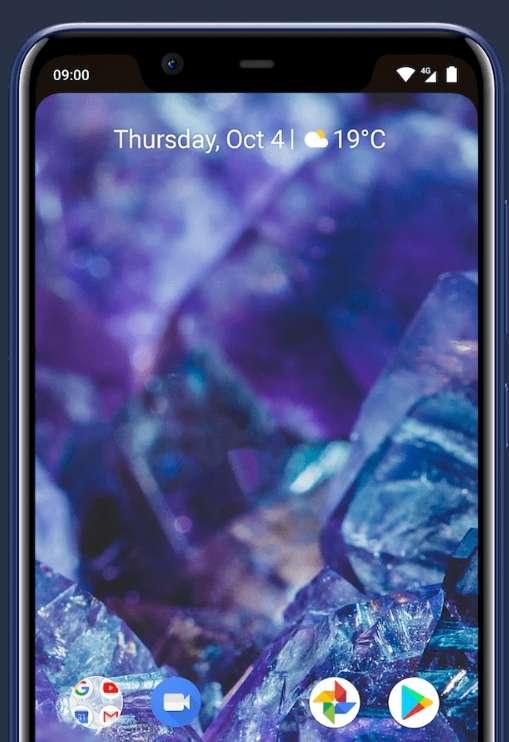 La fameuse encoche et un écran doté d'un ratio 19:9, le tout avec un affichage très correct forment l'un des principaux avantages du Nokia 5.1 Plus. © HMD Global