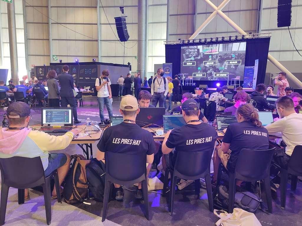 L'European Cyber Cup est la première édition d'une compétition particulière de e-sport puisqu'il s'agit là encore de chercher des failles de sécurité. © Futura