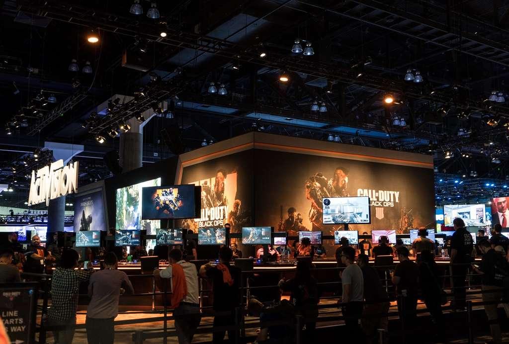 L'E3 est le plus grand salon du jeu vidéo du monde. © Sergey Galyonkin, Flickr, CC By-SA 2.0