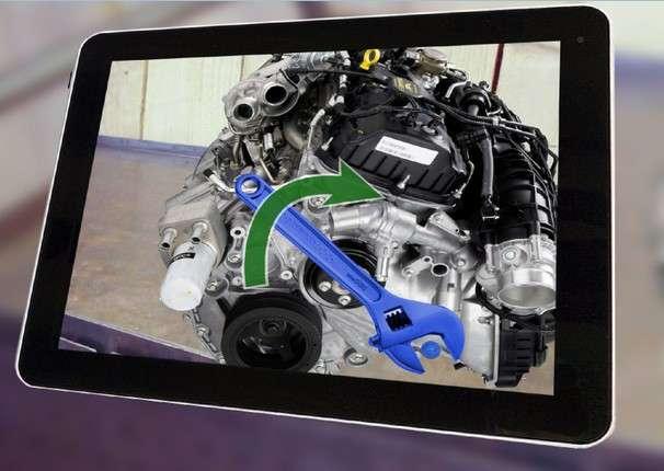 Robocortex fait partie des entreprises françaises qui prospèrent grâce à leur maîtrise des techniques de réalité augmentée appliquées au monde de l'industrie. Cette jeune entreprise créée par des chercheurs de l'Inria propose des applications pour la maintenance et l'assemblage utilisées dans l'automobile et l'aéronautique. © Robocortex