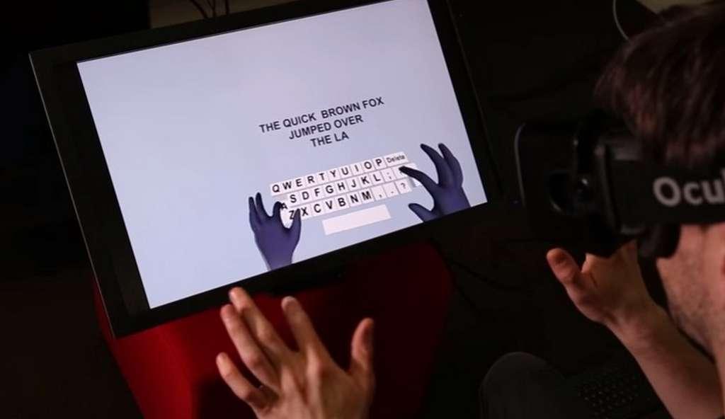 La technologie de détection des mouvements des mains élaborée par Microsoft s'appuie sur de la modélisation 3D et des algorithmes qui détaillent les gestes avec une grande précision. © Microsoft