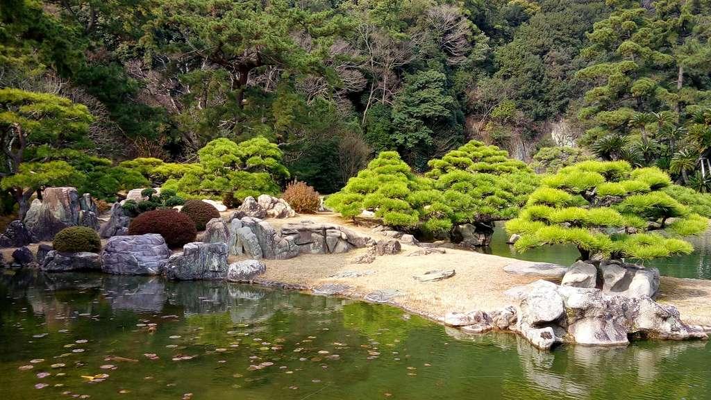 Le jardin Ritsurin, une œuvre d'art à ciel ouvert