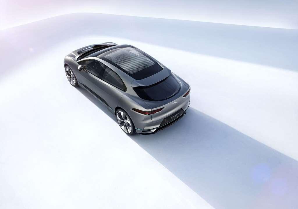 Avec l'I-Pace, Jaguar entend s'attaquer notamment au Model X de Tesla. © Jaguar