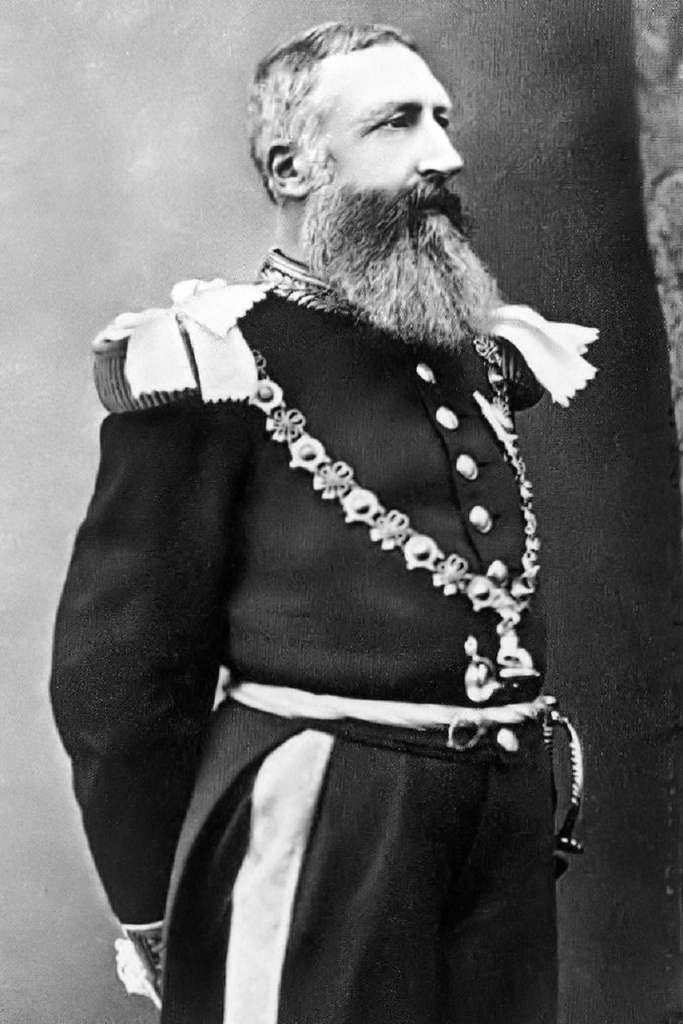Portrait de Léopold II roi des Belges (1835-1909). © Wikimedia Commons, domaine public.