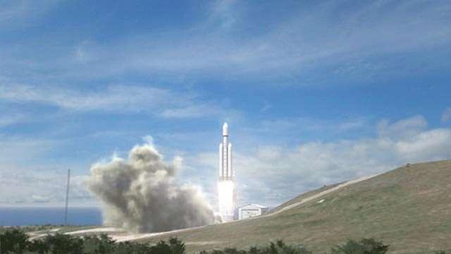Ce futur lanceur, s'il voit le jour, sera lancé depuis Cap Canaveral. © SpaceX