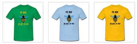 Cliquez pour acheter nos T-shirts « To bee or not to bee ». © Futura
