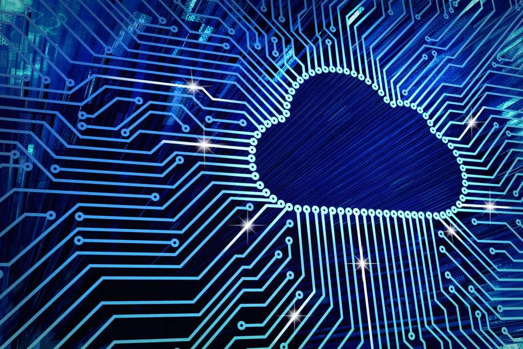 Le cloud computing permet notamment aux entreprises de dématérialiser le stockage de leurs données. Une connexion sécurisée est alors nécessaire. © Cybrain, Adobe Stock.
