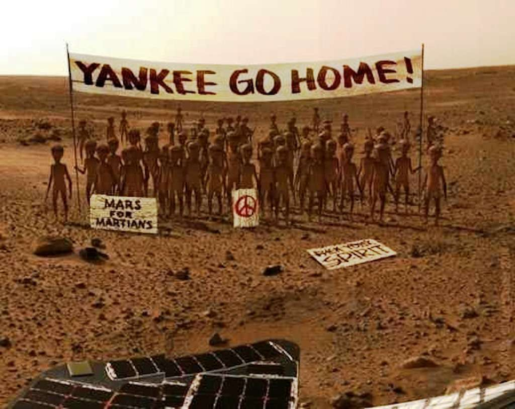En exclusivité : ce que Curiosity a vu et que la Nasa ne veut pas que l'on sache ! © DR