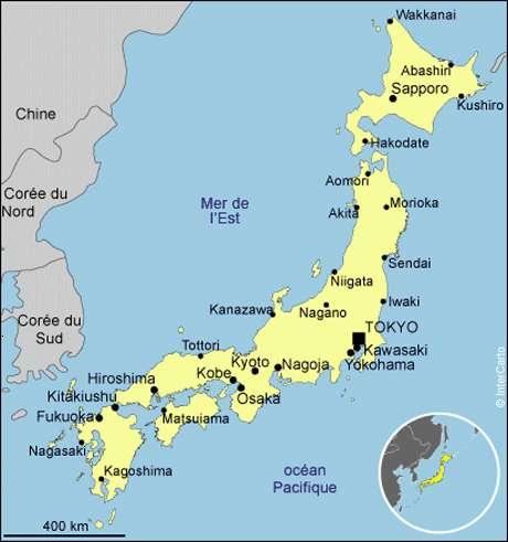 Les différentes villes pour vous repérer avant votre voyage au Japon. Avec plus de 37 millions d'habitants, l'agglomération de Tokyo est l'aire urbaine la plus peuplée du monde. © DR