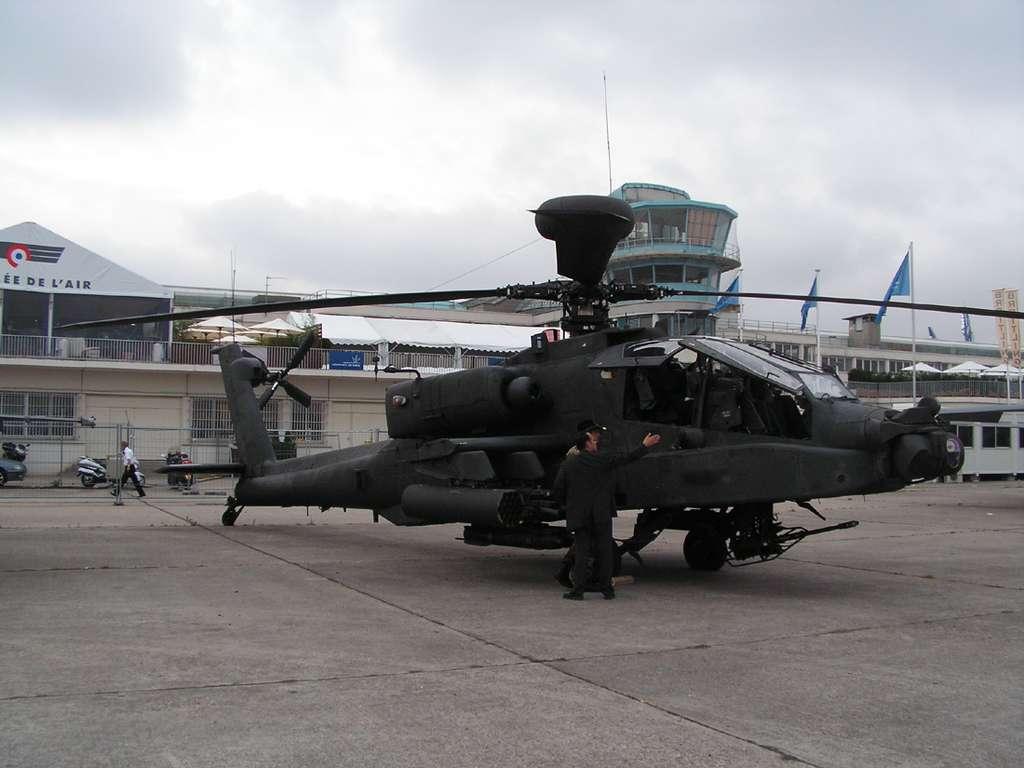 L'Apache Longbow au Bourget