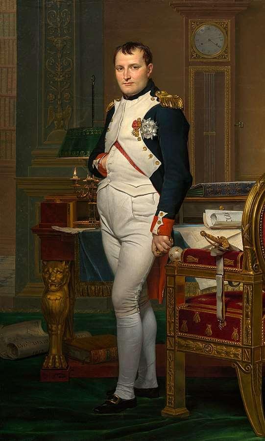 Napoléon Bonaparte dans sa célèbre pose. © Wikimedia Commons, Domaine Public