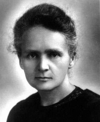Marie Curie (1867-1934), chimiste