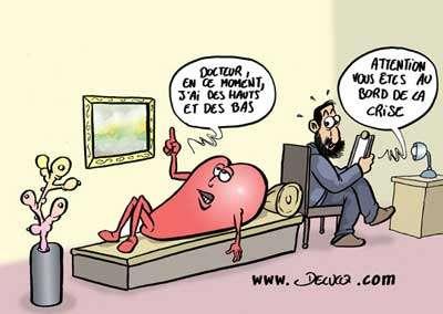 La crise du cœur ! © Delucq