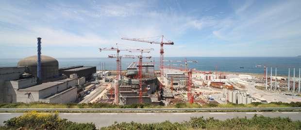 Le réacteur EPR en construction sur le site de Flamanville. © energie.edf.com