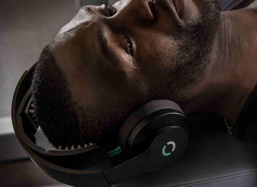 Le casque Halo Sport amplifierait la stimulation des muscles. © Halo Neuroscience (tous droits réservés)