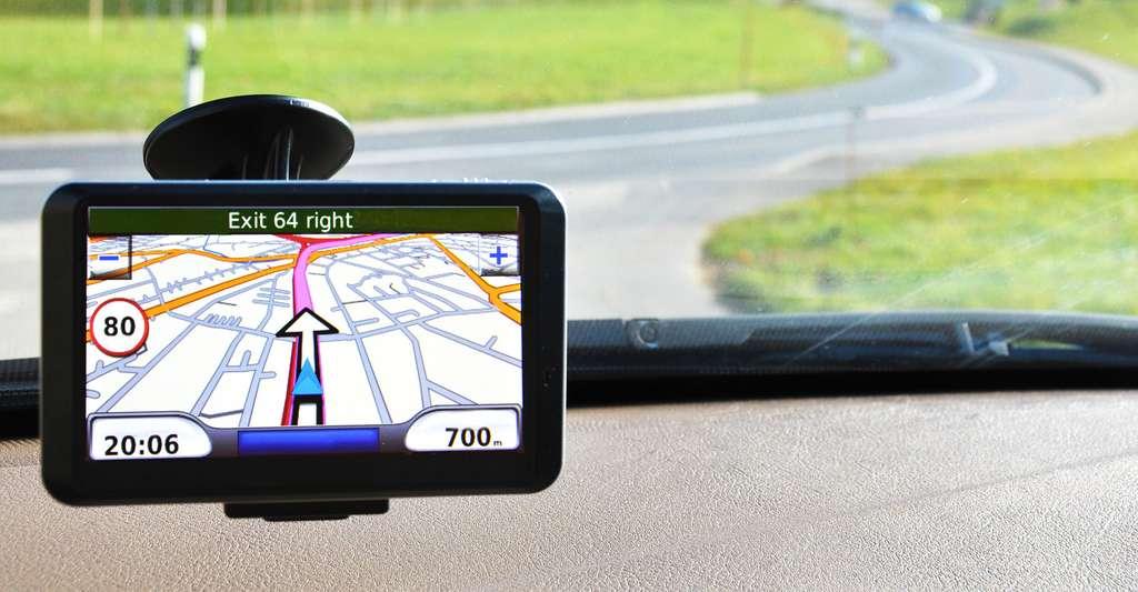 Système de navigation par satellite. © Pincasso, Shutterstock