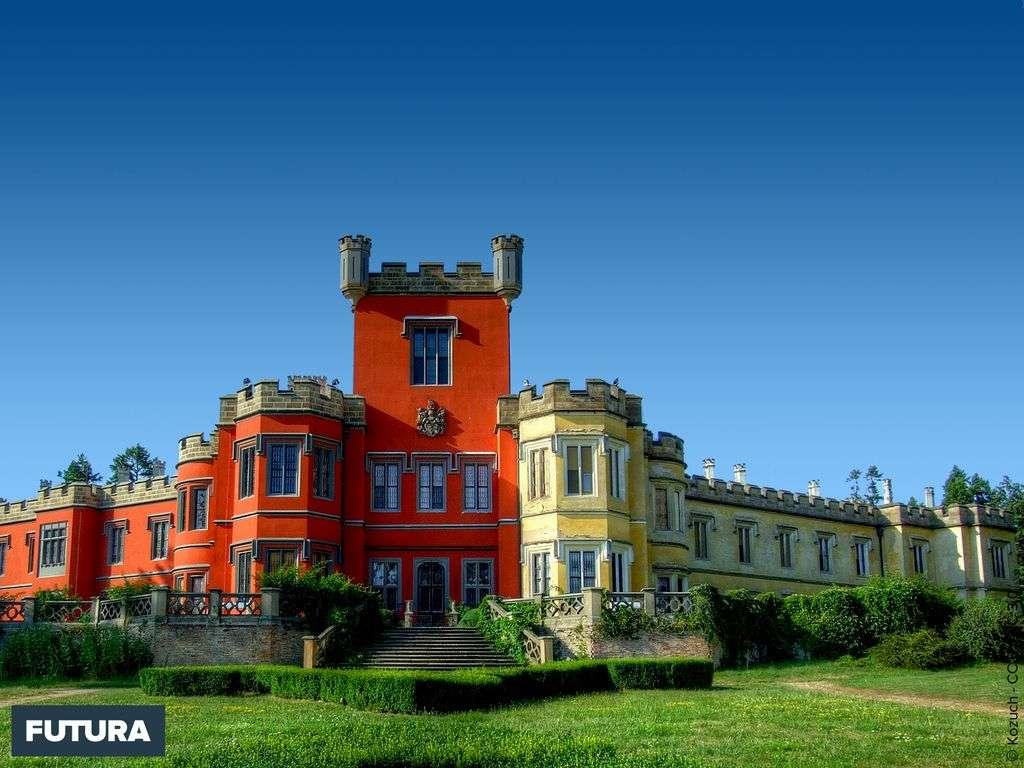 Château Hrádek u Nechanic - Tchécoslovaquie