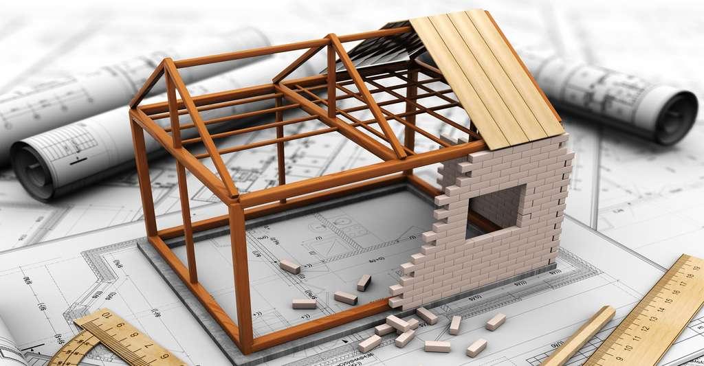 Les conseils essentiels pour réaliser les plans d'une maison. © Mmaxer Shutterstock