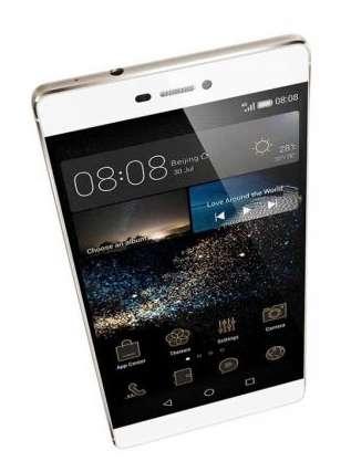 Le P8 d'Huawei. Le système d'exploitation Kirin OS pourrait, à terme, remplacer Android sur certaines productions de la marque. © Huawei