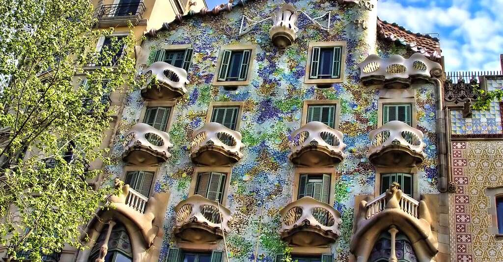 La maison Batllo. © Matinibz, Wikimedia, CC by-sa 3.0
