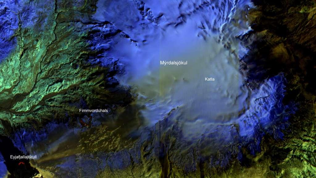 L'IA à bord du satellite EO-1 a permis de détecter l'éruption volcanique de l'Eyjafjallajökull en 2010. © Nasa, JPL, EO-1 Mission, GSFC, Ashley Davies