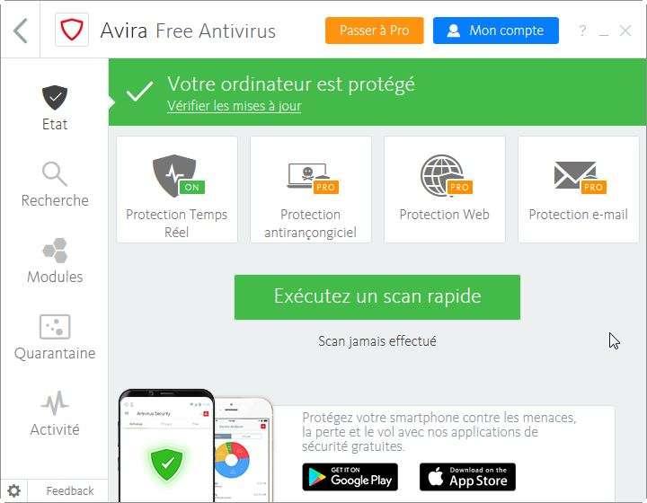 Avira déclare que son logiciel a été installé plus de 500 millions de fois. © Avira Operations GmbH & Co. KG
