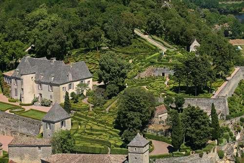 Vue aérienne de Marqueyssac. © Laugery, DR