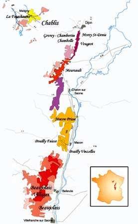 Vignobles de Bourgogne