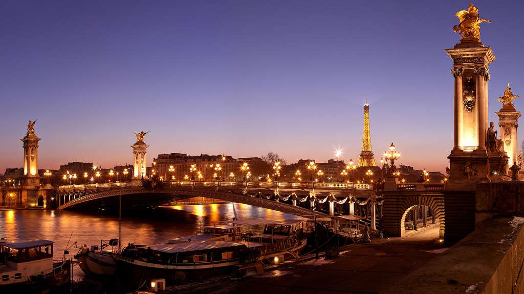 Le pont Alexandre-III, symbole de l'amitié franco-russe