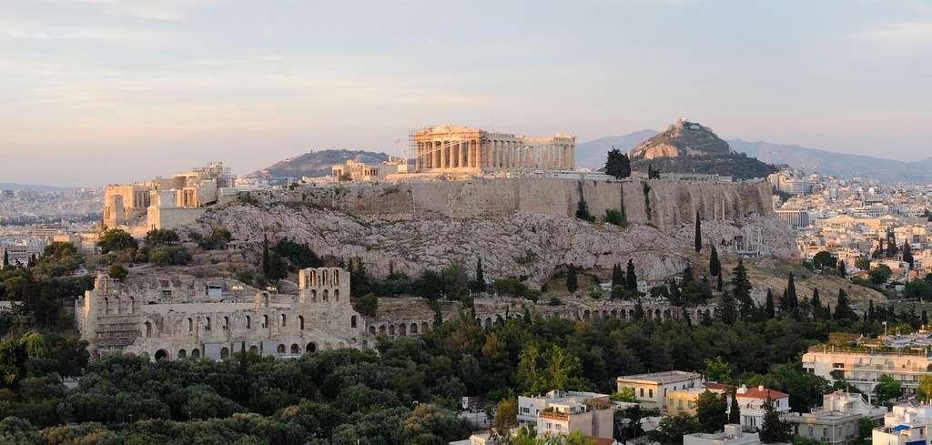 L'acropole d'Athènes, en Grèce. © Christophe Meneboeuf pixinn.net, Wikimedia Commons by CC 3.0
