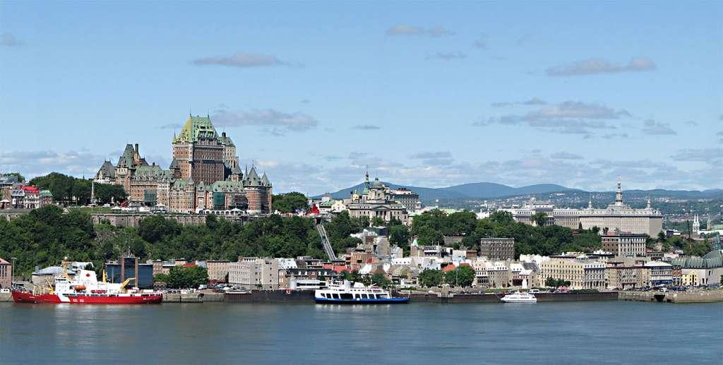Arrondissement historique du Vieux-Québec, qui figure depuis 1985 sur la liste du patrimoine mondial établie par l'Unesco. © Datch78, GNU 1.2