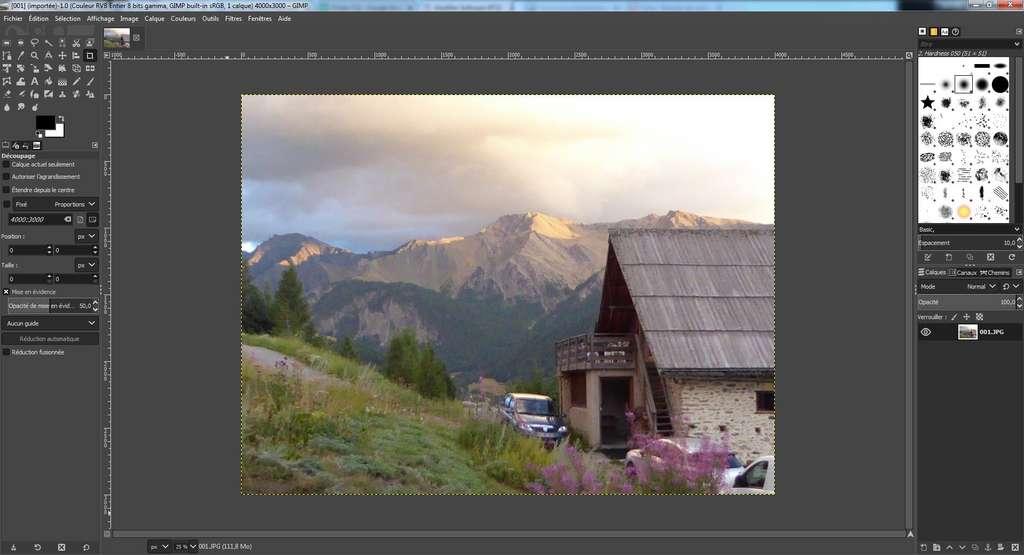 GIMP est une alternative gratuite et complète à Photoshop avec plus de 500 filtres et effets. © The GIMP Team, CC by-sa 4.0