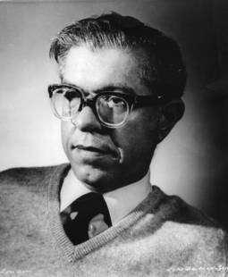Fred Hoyle, le grand astrophysicien. cliquez pour agrandir. Crédit : Barbara Hoyle