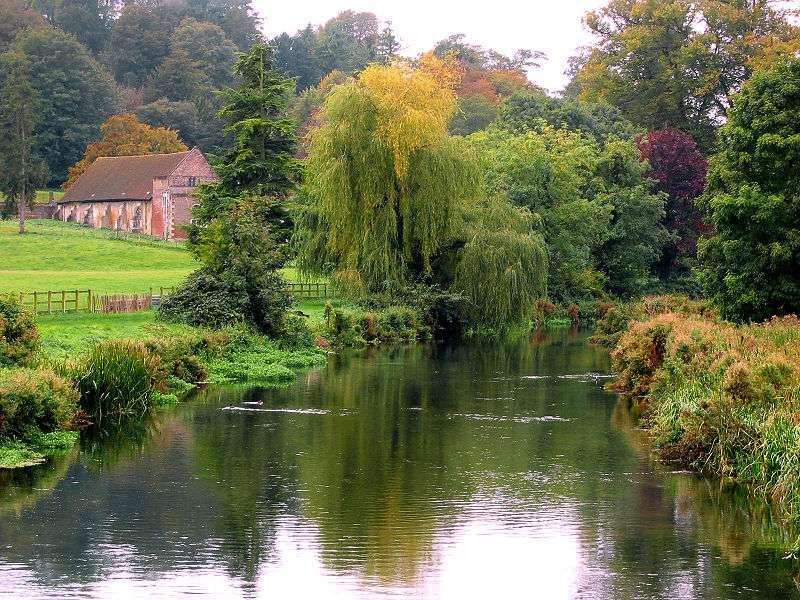 Les jardins de la Wilton House, au Royaume-Uni