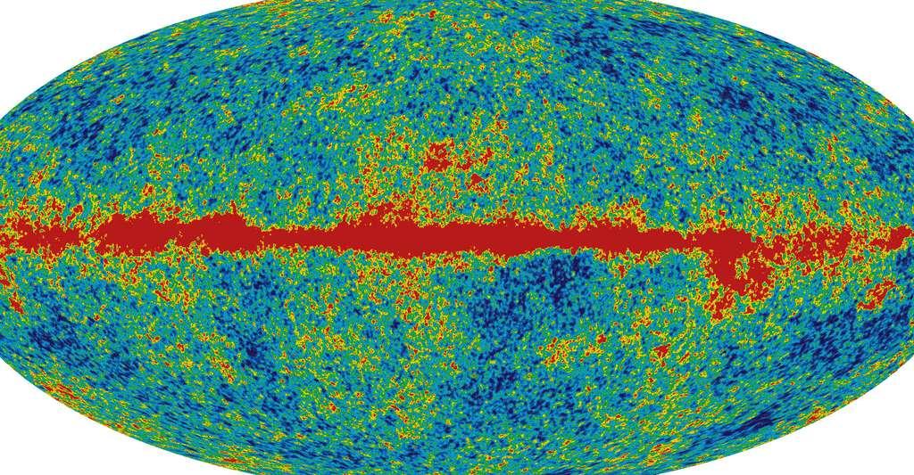 WMAP 2008 61GHz. © NASA / WMAP Science Team, DP