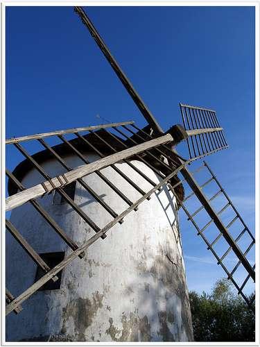 Les moulins à travers l'Histoire. © Abac077, Flickr by nc-sa 2.0