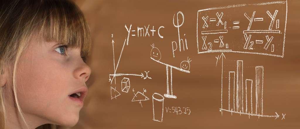 Les équations à inconnu ont toujours fasciné. © Geralt, DP